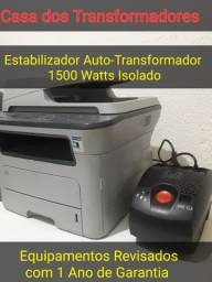 Estabilizador Auto-Transformador de 1500 watts Isolado.
