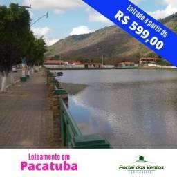 Lotes financiados em Pacatuba pronto para construção parcelas apartir R$145