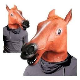 Máscara de cavalo de látex