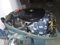 Motor de popa15 Hp Evinrude revisado