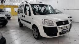 Fiat Doblo Essence 1.8 7 Lugares 2018 Branco Completa Super Nova Doc OK