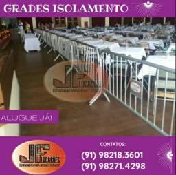 GRADES DE ISOLAMENTO P EVENTOS