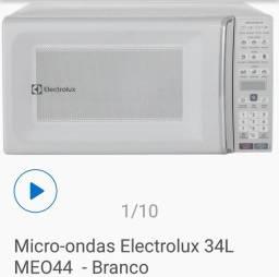 Microondas Electrolux 34litros,novo