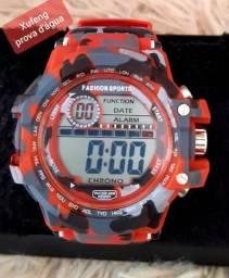 Relógio G-Shock vermelho camuflado comprar usado  Maceió