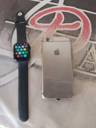 IPhone 6 e iwo w26 para troca ( leia o anúncio)