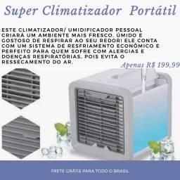 Super Climatizador Portátil- APENAS ENCOMENDAS, RECEBA COM 10 DIAS!