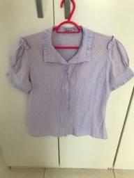 Blusa barreds nova, tamanho 40, 5 reais