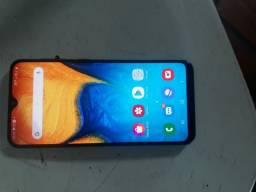Samsung a20 leia a descrição