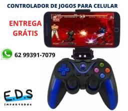 Controlador de Jogos Joystick Para Celular Android
