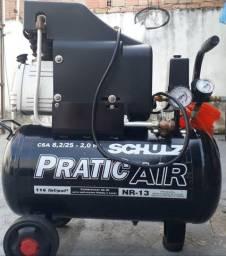 Compressor de ar pratic air Schulz