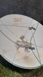 Antena da Sky.