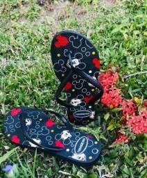 Sandálias Aparti de R$7,99 no atacado de 6 peças podendo ser variados