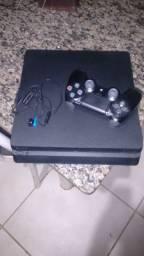 Vendo ps4 Slim 500GB + 1 controle + cabos + 10 jogos 2000 Reais