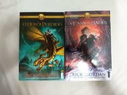 Livros Os Heróis do Olimpo (Mitologia tipo Percy Jackson)