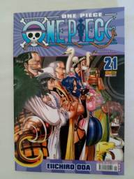 Mangá One Piece 21 Novo