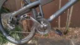Bicicleta alumínio 18 marchas