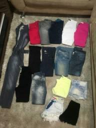 Combo para adolescente varias roupas semi novas