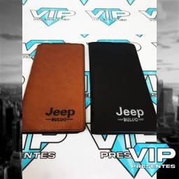Carteira Jeep Longa Slim Unisex