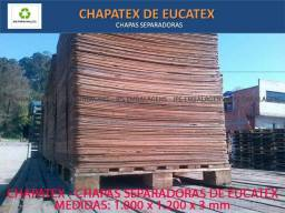 Chapatex Chapa de eucatex - usadas 1000x1200x3 mm