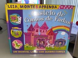 Castelo De Contos De Fadas: Leia, Monte E Aprenda NOVO, LACRADO