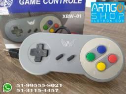 Controle Super Nintendo Pc Usb Super Nes