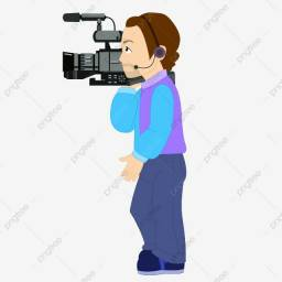 Cinegrafista profissional com equipamento - Diária R$ 300,00