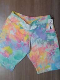 Kit 3 shorts curto novos- tamanho (m)
