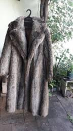 Vendo casacos de pele natural antigos