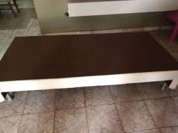 Base da cama box solteiro perfeito estado, pouco usado