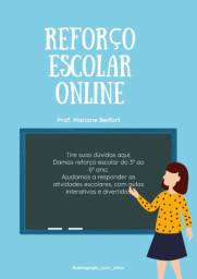 Reforço escolar online