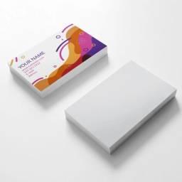 Você está precisando de cartão de visita ? essa é a sua chance de adquirir o seu!