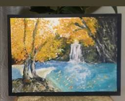 Pintura/quadro CACHOEIRA