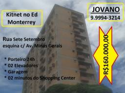 Kitnet no Ed Monterrey - Av. Minas Gerais c/ Rua Sete de Setembro