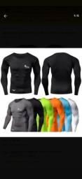 Kit de 3 camisas térmicas tamanho M