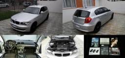 BMW 118i 2.0 automática, completa, placa A, manuais, chave reserva, 74mkm, periciada