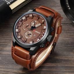 Relógio Luxo Curren