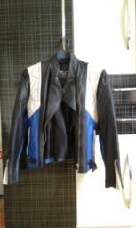 Jack Búfalo jaqueta couro legítimo feminina motociclista tamanho M