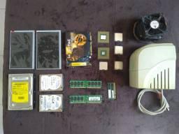 Notebooks e peças