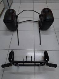 Bau Lateral GIVI + Suporte + Protetor de motor XRE 300
