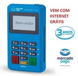 Point Mini Chip & Wi-fi - Mercado Pago Maquinha Não Precisa De Celular