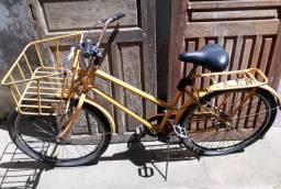 Bicicleta de Carteiro freio de pé mão, Aceito troca!