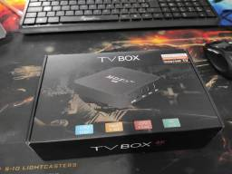 Tv box 4k, transforma sua tv normal em smart