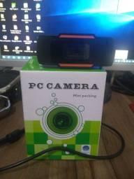 Webcam digital HD com microfone