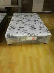 Cama box Viúvo espuma 1,20 x 1,88 - Novo