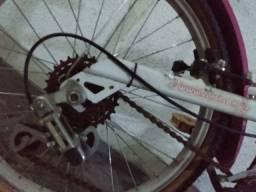 Bicicleta Caloi Luli Aro 20