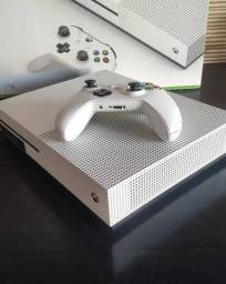 Xbox one S - 1tb impecável - nota fiscal