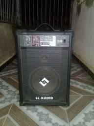 Caixa amplificada LL ÁUDIO com entrada pra pendrive.