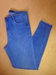 Calça jeans cintura alta Marfinno Denim