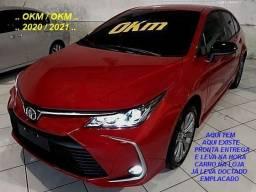 Corolla XEI 2.0 16V Flex VVT-I 177CV AT10M 2020/2021 - OKM/OKM . Completíssimo
