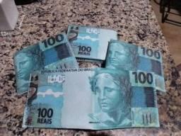 Novidade carteira de cédula de 100